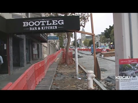 Delayed Van Ness Ave. Construction Hurting Small Business Owners