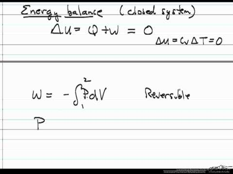 Isothermal Ideal Gas