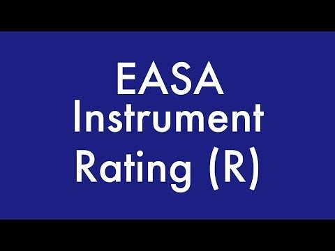 Instrument Rating (R) Training | Part 1
