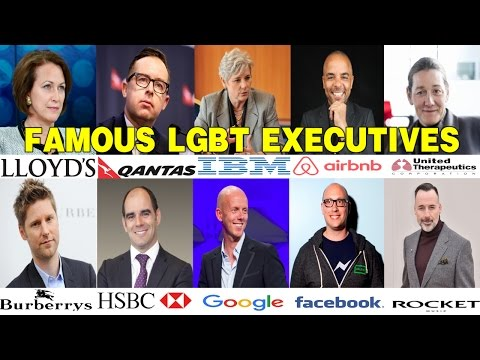 50 Most Powerful LGBT Business Executives Around The World