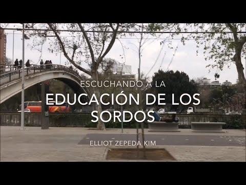 ESCUCHANDO A LA EDUCACIÓN DE LOS SORDOS | PROYECTO PERSONAL