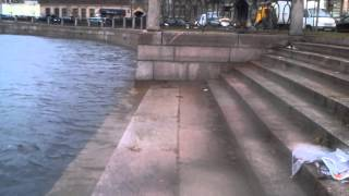 Набережная реки Карповки в Петербурге