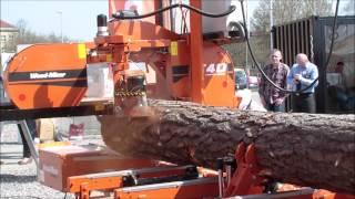 Trak Wood-Mizer LT40  - Targi Budowlane LUBDOM, Lublin 10-12.04.2015
