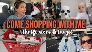 COME HALLOWEEN SHOPPING WITH ME | HALLOWEEN DECORATE WITH ME | CHANNON ROSE