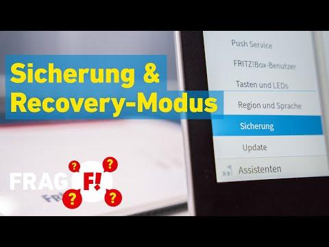 FRITZ!Box-Backup: Einstellungen sichern, wiederherstellen & Recover-Tool | Frag FRITZ! 028