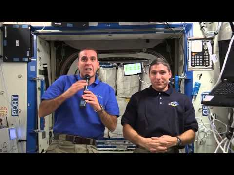Space Station Crew Members Discuss Life in Space with University of Illinois Alumni and Media