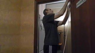 видео Уплотнитель для металлических дверей