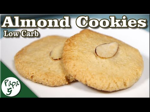 Easy And Delicious Low Carb Almond Cookies – Keto Cookies