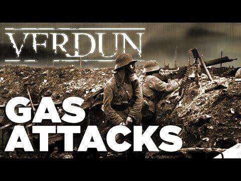 GAS ATTACKS - VERDUN Frontlines | [WW1 Trench Warfare]