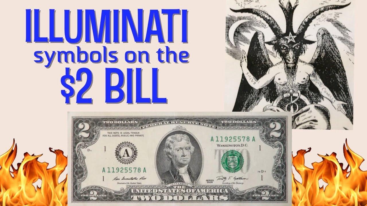 Illuminati symbols on the $2 bill? baphomet and owls rule