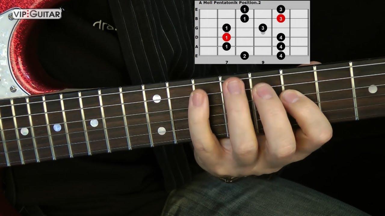 Die 5 Pentatoniken für Gitarre: \