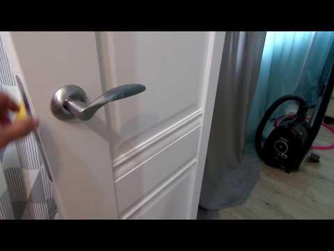 Скрипит дверь, после установки