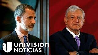 """""""El Rey Felipe VI no tiene que pedir perdón"""": Vicepresidenta de España tras la petición de AMLO"""