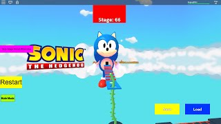 Roblox Sonic The Hedgehog obby Time-lapse