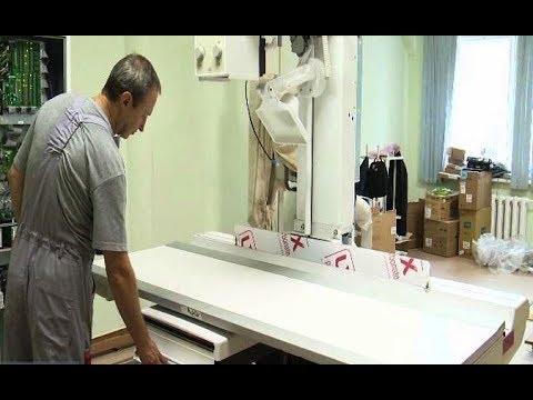 В Тарко-Салинской ЦРБ появился новый цифровой рентген-аппарат