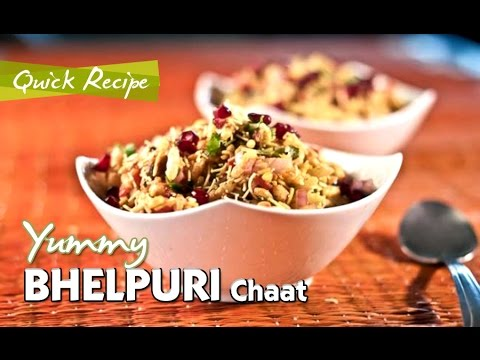 Bhel Puri Chaat | Indian Spicy Snack Recipes | Quick Recipe Video