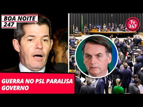 Boa Noite 247  (18.10.19) - Guerra no PSL paralisa governo