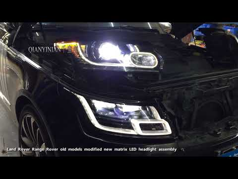 Land Rover Range Rover Executive Old Model Retrofit New Matrix LED Headlights[L405]