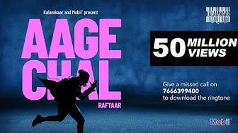 AAGE CHAL (OFFICIAL VIDEO) - RAFTAAR | SAURABH LOKHANDE | !LLMIND | KALAMKAAR
