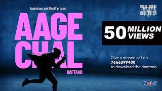 Gambar cover AAGE CHAL (OFFICIAL VIDEO) - RAFTAAR | SAURABH LOKHANDE | !LLMIND | KALAMKAAR