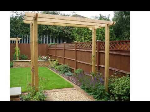 Small rectangular garden design - YouTube on Rectangular Backyard Design id=89333