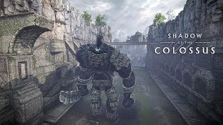 SHADOW OF THE COLOSSUS PS4 #15 - Colosso Sentinela (PS4 Pro 60fps Gameplay Português PT-BR)