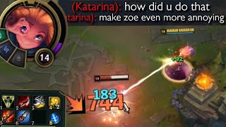 Zoe but she