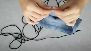 мини рюкзак из старых джинс (Как сшить рюкзак)