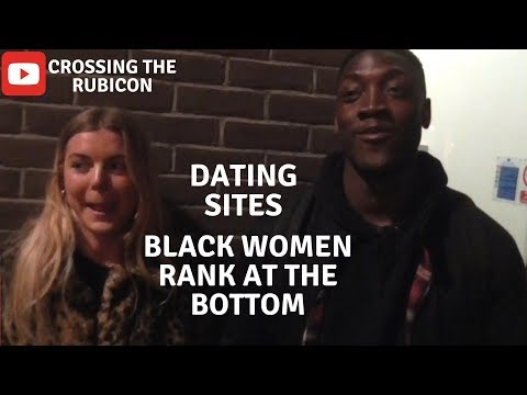 "Dating Sites, ""Black Women Rank At The BOTTOM!"""