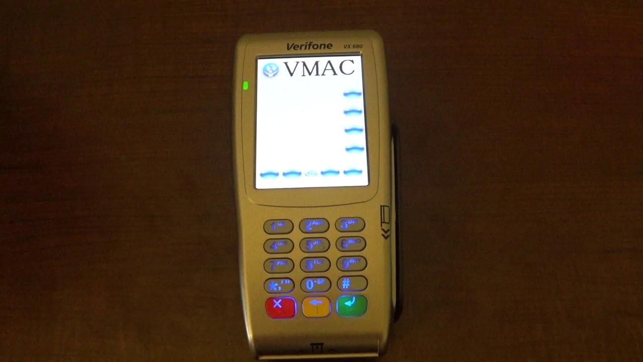 VeriFone Rebooting Problem Vx680 FIX
