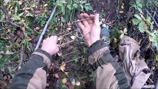 Охота на бобра с капканом КП-250  и приманкой (Будни охотника и рыбака)