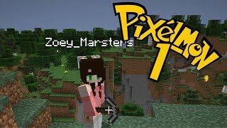 Minecraft Pixelmon #1 ● Das Abenteuer beginnt ● [Deutsch/German] ● Let's Play w/ Zoey