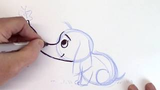 How to Draw Cartoons from Simple Shapes - Super Fun for Beginners