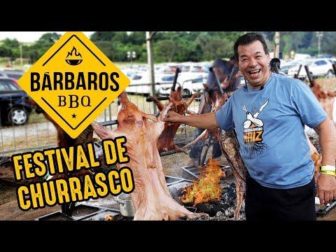Festival De Churrasco Bárbaros BBQ 2019 I Churrasqueadas