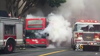 A frightening moment in SF's North Beach neighborhood for a group o...