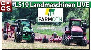 LS19, TORNADO & fette LANDMASCHINEN | FarmCon 18 G►GS Vor Ort