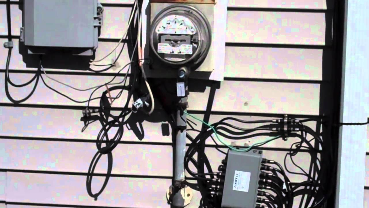 New electrical service to residential home part 1 of 2 for What is the standard electrical service for residential