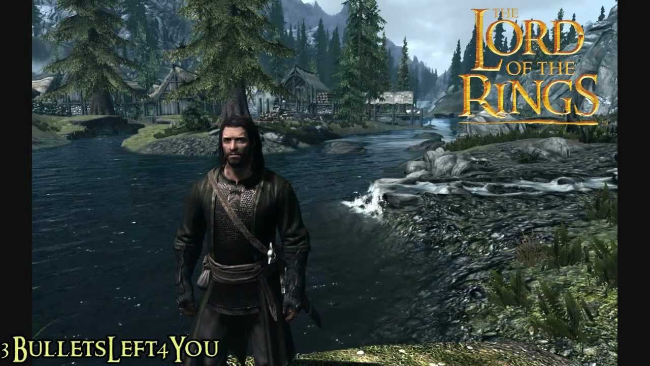 Lord Of The Rings Skyrim Mods