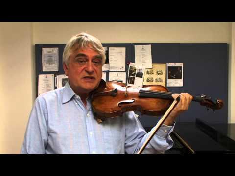 The Violin Channel | Professor Ole Bohn | Teaching Masterclass | Part 3 of 4 | Finger Vibratro