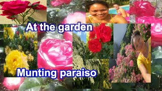 Paradise garden at work place