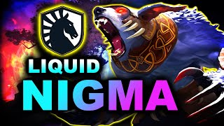 NIGMA vs LIQUID - GREAT GAME - DPC EU DREAMLEAGUE S14 DOTA 2