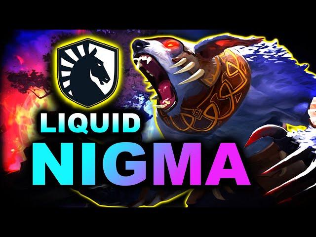 NIGMA vs LIQUID - GREAT GAME - DPC EU DREAMLEAGUE S14 DOTA 2