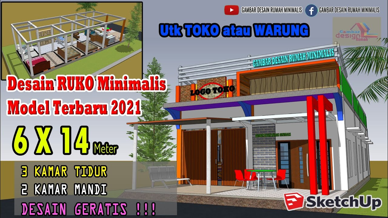 Layanan Jasa Gambar Rumah Rumah Toko 2 Lantai Di Tulungagung Desain Rumah 2 Lantai Rumah Minimalis Rumah