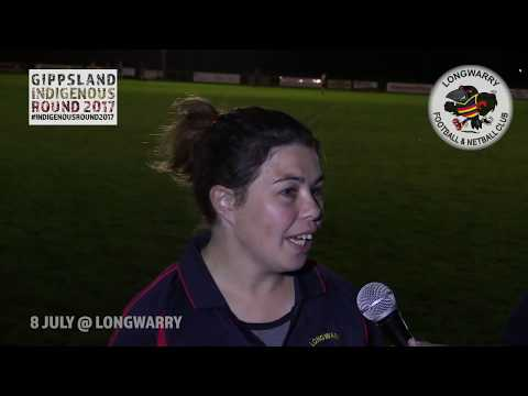 Our very own Lisa is suiting up for Longwarry's Indigenous Round