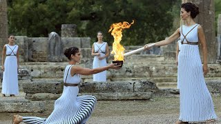 LIVE - Olympic Flame Lighting Ceremony Tokyo 2020