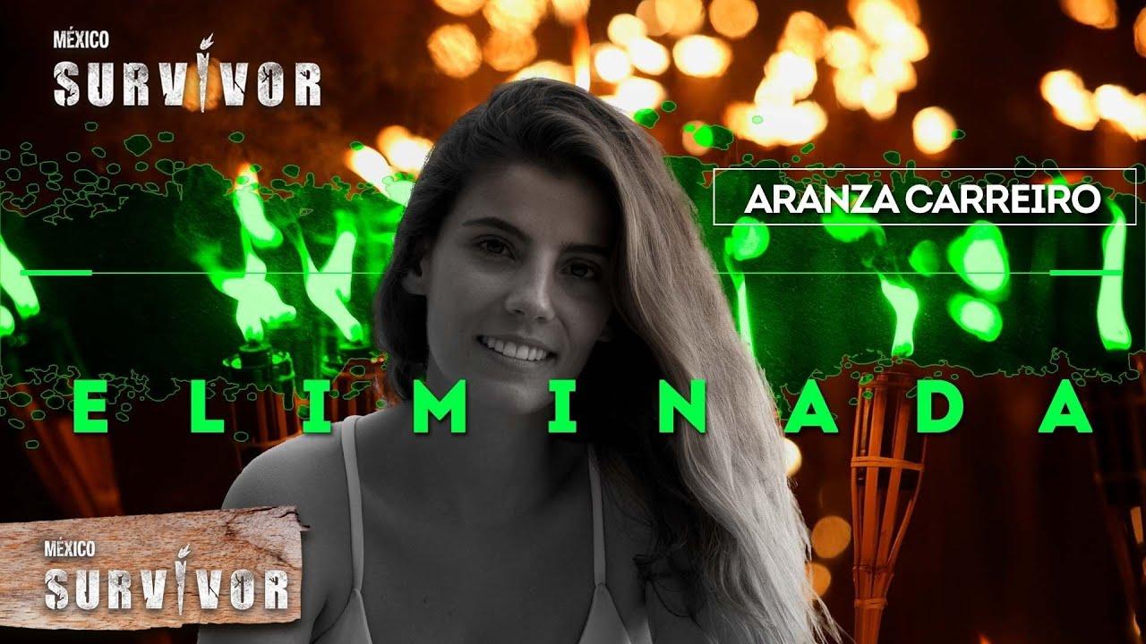 Aranza Carreiro no logró superar el duelo de extinción de Survivor. | Survivor México 2021