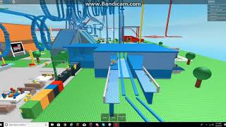 Classic Roblox Game: Six Flags Great Robloxia