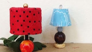 How To Make A Cute Miniature Dollhouse Lamp Shades - Diy Crafts Tutorial - Guidecentral