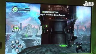E3 11: Green Lantern Rise Of The Manhunters Gameplay