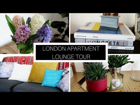 LONDON APARTMENT TOUR | LOUNGE TOUR